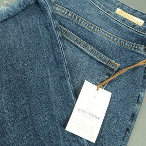 Anthropologie Pilcro High-Rise Flare Cropped Jeans